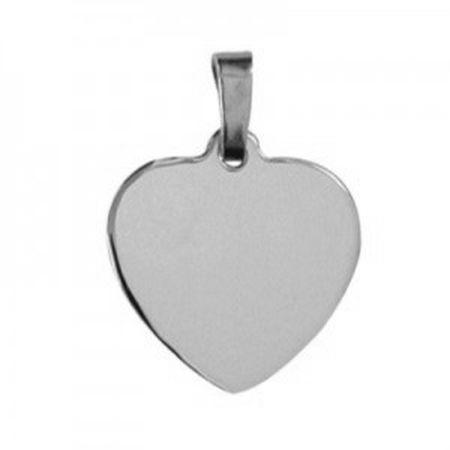 s/s Engravable Heart