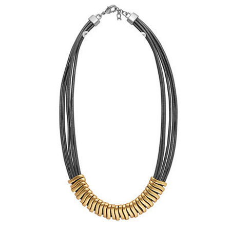 Tracy Leather Necklace