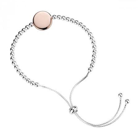 Two-tone Slide Bracelet