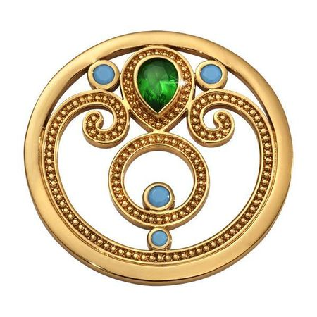 Emerald 33mm Coin