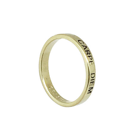 9ct Yellow Gold Posie Ring