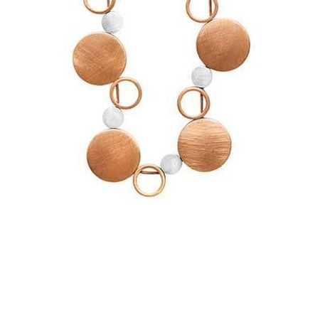 Rose Gold & Silver Necklace