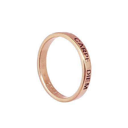 9ct Rose Gold Posie Ring