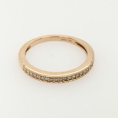 10ct Gold Wedding Band
