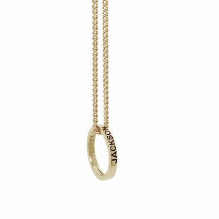 9ct White Gold Posie Pendant