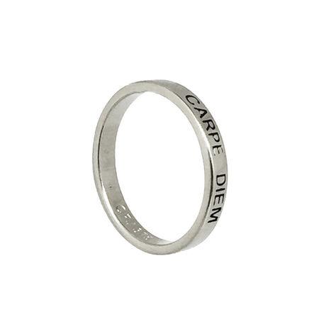 9ct White Gold Posie Ring